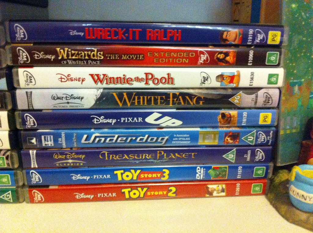 Shelf Number 3: My DVD Collection: Toy Story 2 to Wreck it ... Wreck It Ralph Trailer Toy Story
