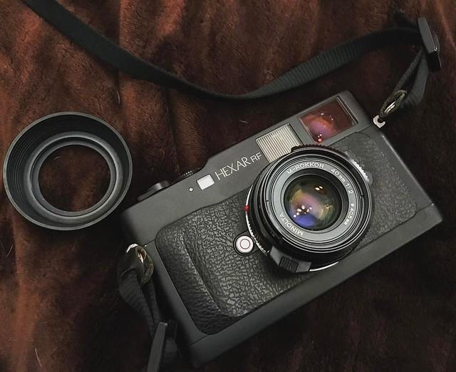 真。Konica Minolta M 40mm f2