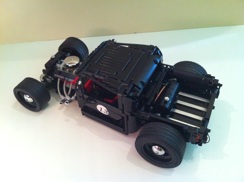 lego hot rod lucky 13 this is a modification of my hot. Black Bedroom Furniture Sets. Home Design Ideas