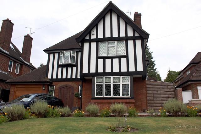 Modern Tudor House | Flickr - Photo Sharing!  Modern Tudor Ho...