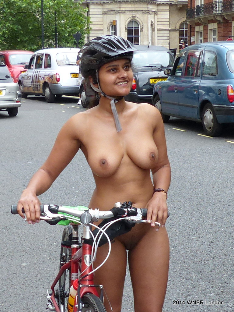 World Naked Bike Ride Indian-4368