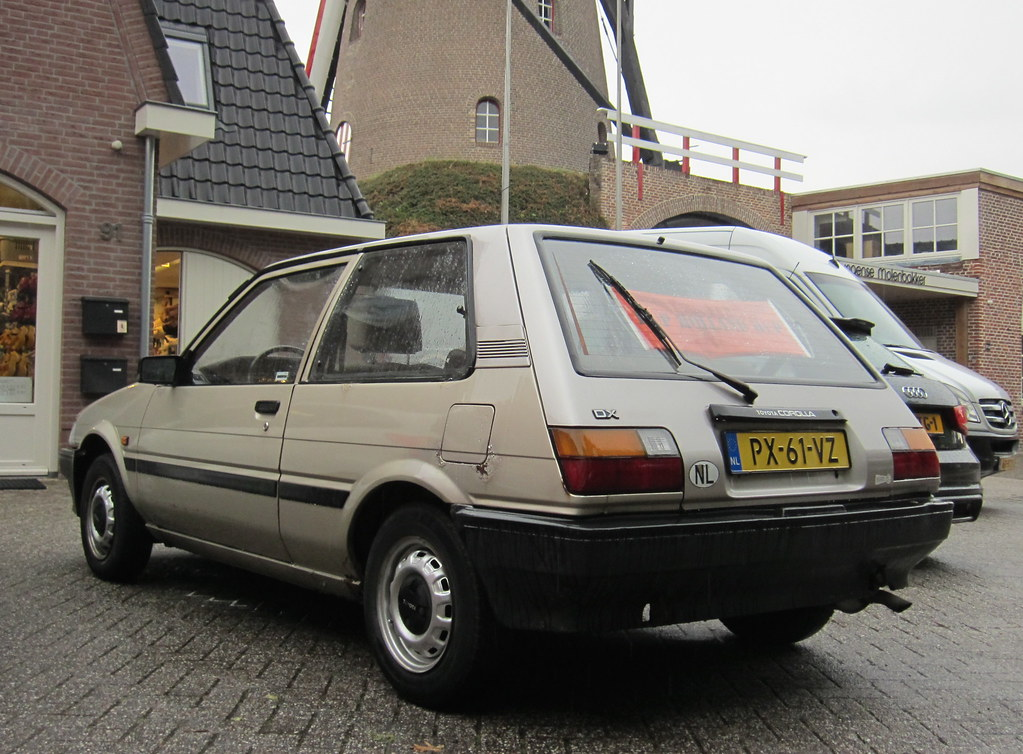 1986 Toyota Corolla 1 3 Dx Automatic Place Den Dungen