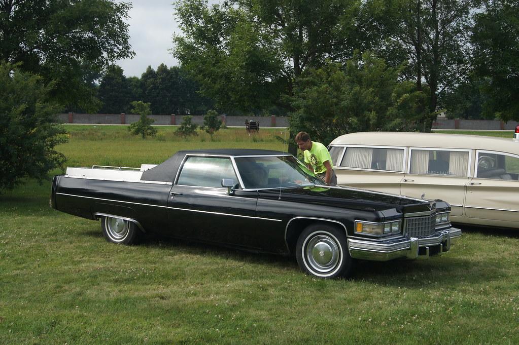 1976 Cadillac Calais Flower Car Professional Car Society