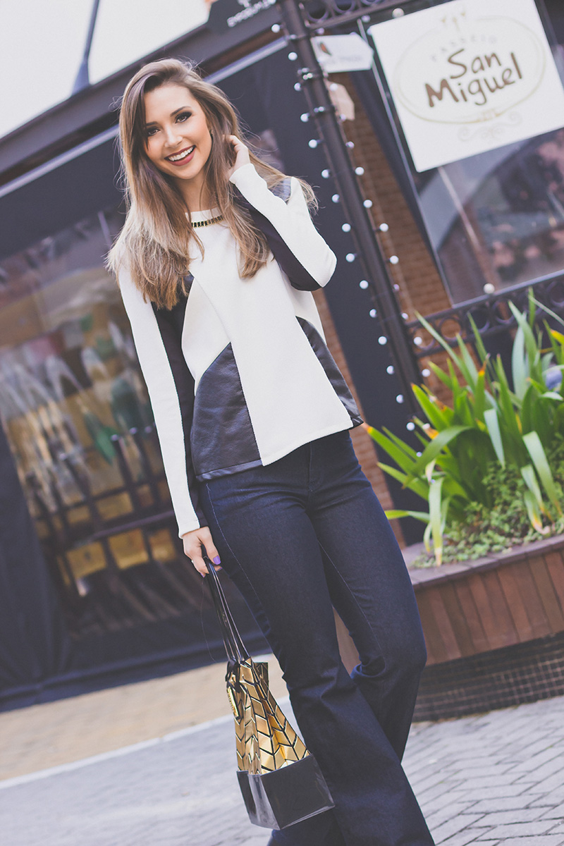 5-look com calça jeans flare naguchi jana taffarel