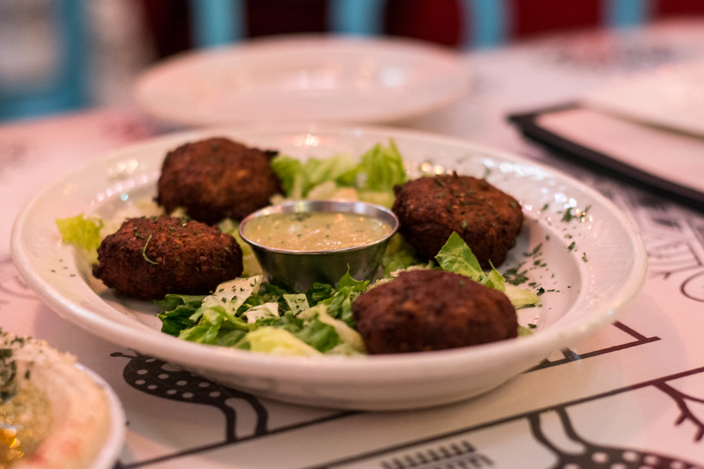 Falafels falafels at ali baba turkish restaurant raul for Ali baba turkish cuisine