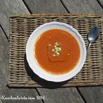 Holsteiner Gemüsesuppe, kalt mit Rapskernöl