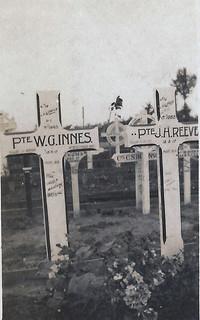 Sandy's photo of William Hoare's gravemarker