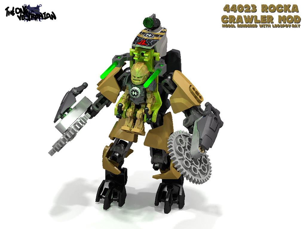 Lego Hero Factory Invasion From Below Rocka