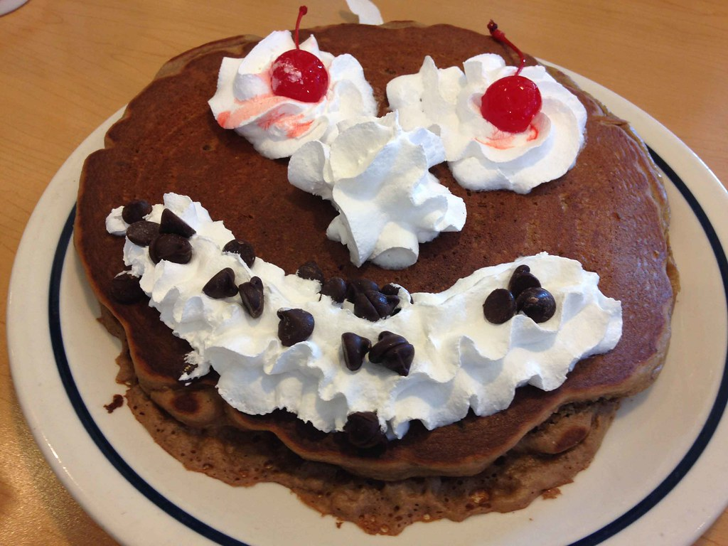 We're giving away 60¢ short stacks on July 17 from 7a-7p for IHOP's 60th birthday. That's right, IHOP! We'd never turn our back on pancakes (except for that time we faked it to promote.