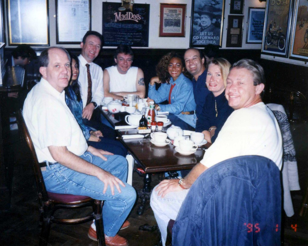 All Sizes At The Mad Dogs Pub Nathan Road KOwloon With Members - Royal odyssey cruise ship