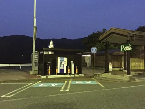 賤ヶ岳SA下り 電気自動車(EV)用急速充電器