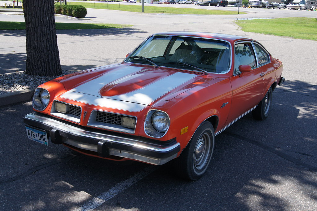 1976 Pontiac Astre Car Spotting While Travelling For The