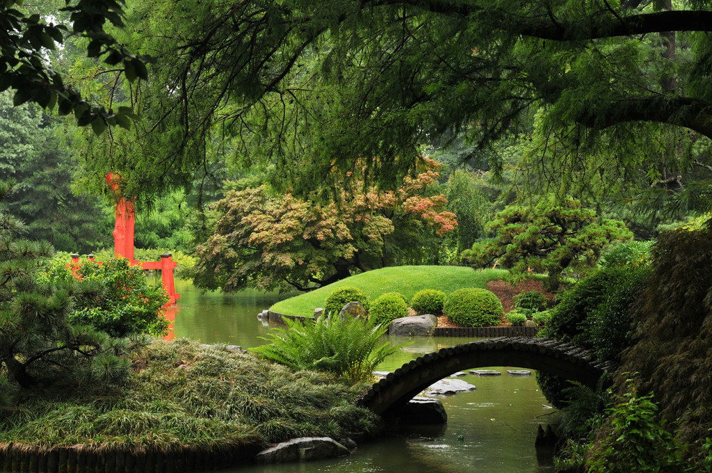 Rain In The Japanese Garden My Favorite View In The