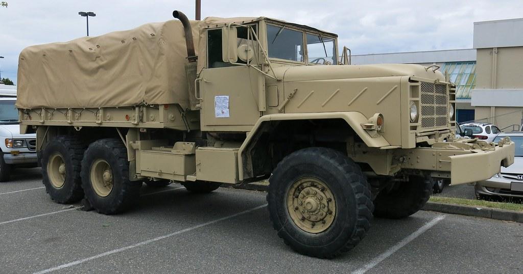 1990 BMY Harsco M923/A2 5-Ton 6X6 Troop/Cargo Military Tru ...