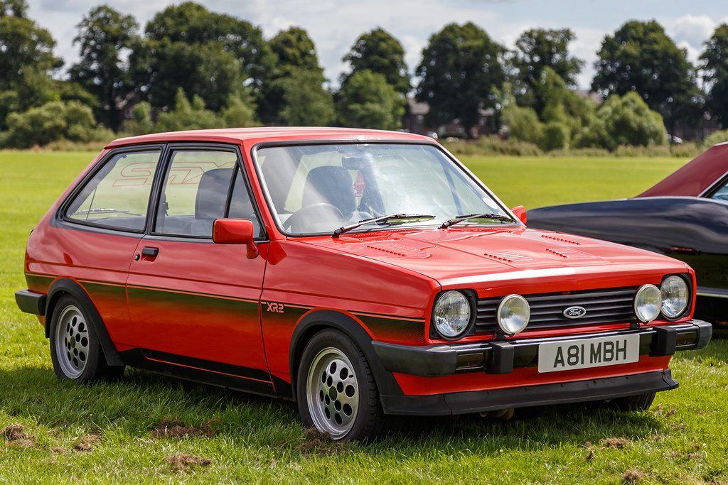 fiesta xr2 very smart red 1983 ford fiesta xr2 a81 mbh flickr. Black Bedroom Furniture Sets. Home Design Ideas