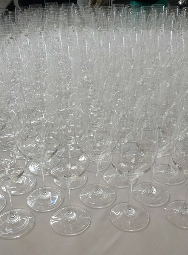 Riedel Wine Glasses at the Wines of The Beautiful South Wine Tasting Kensington Olympia 2014