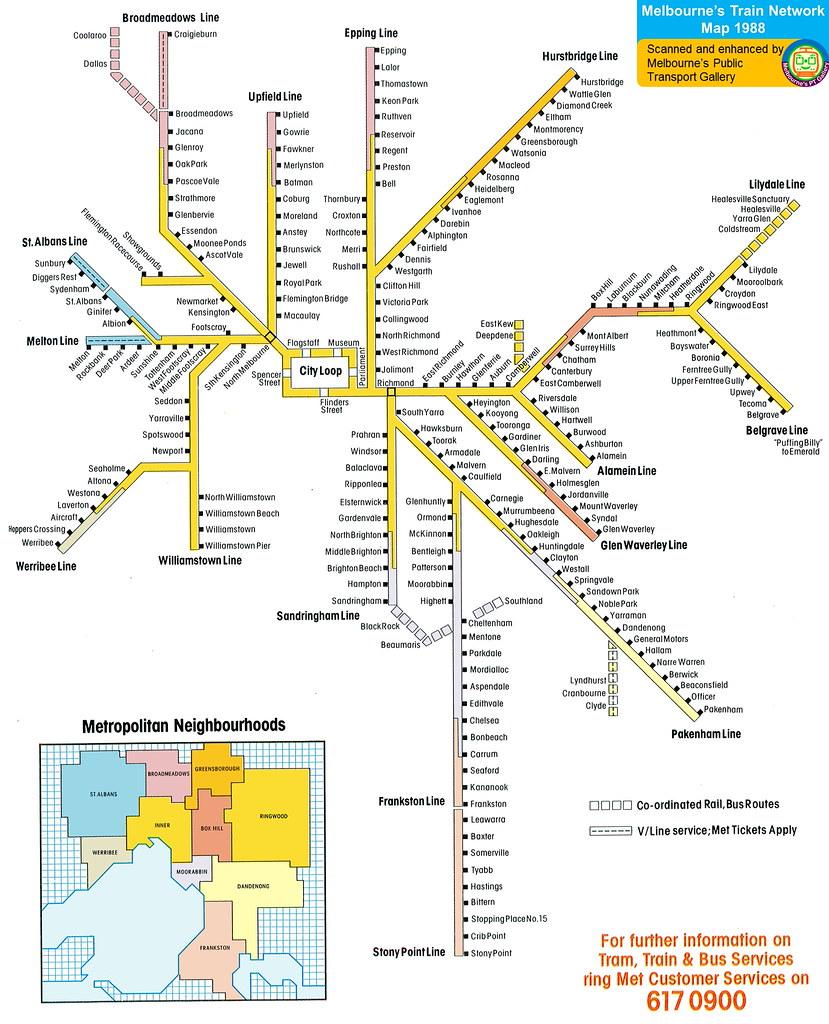 melbourne train network map pdf