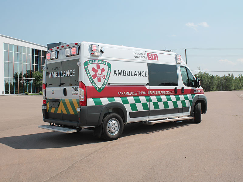 Cargo Van Conversion >> New Brunswick ambulance | A 2014 Ram Promaster 3500 High Roo… | Flickr