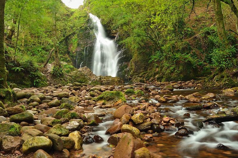 Cascada de Xorroxin, Navarra