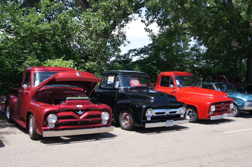 ford f 100 pick ups msra back to the 50 s 41st annual. Black Bedroom Furniture Sets. Home Design Ideas