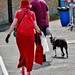 Medway River Festival - July 2014 - Lady in Red