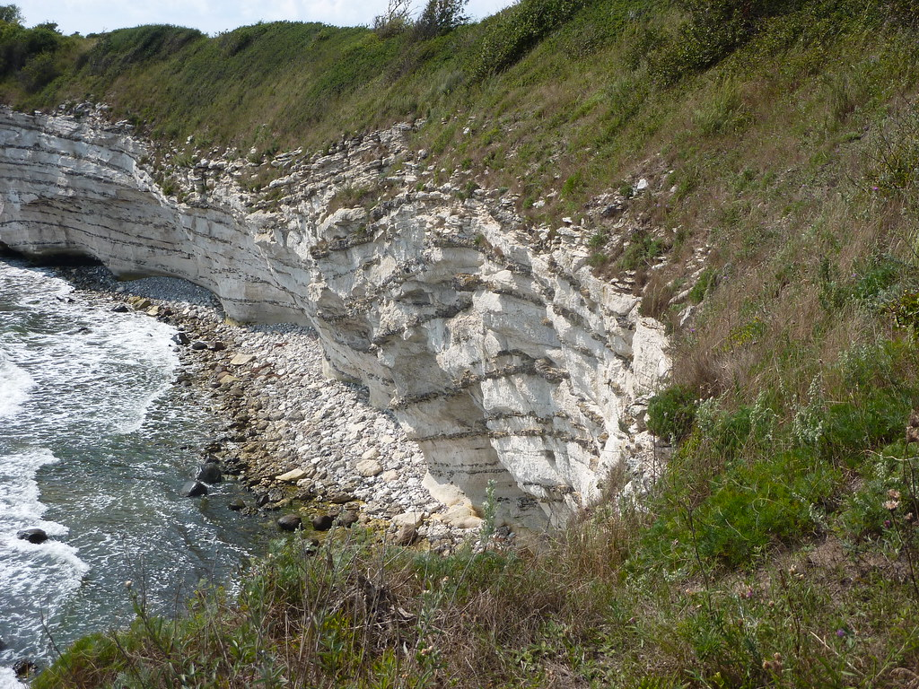 Klint Geology Stevns Klint's Geology Helps