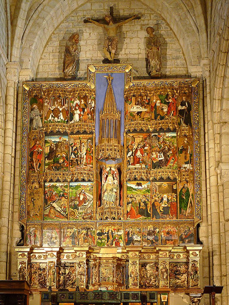 Retablo de Santa Maria la Blanca, Villalcazar de Sirga  Flickr