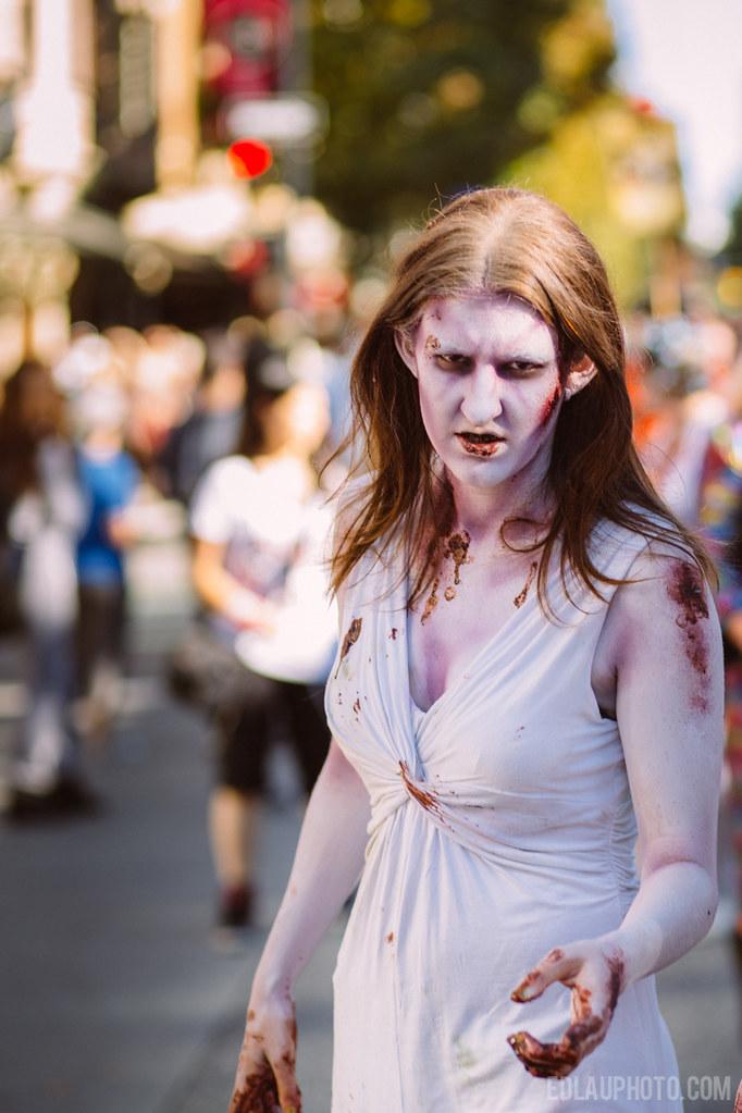 Zombie Walk Vancouver 2014