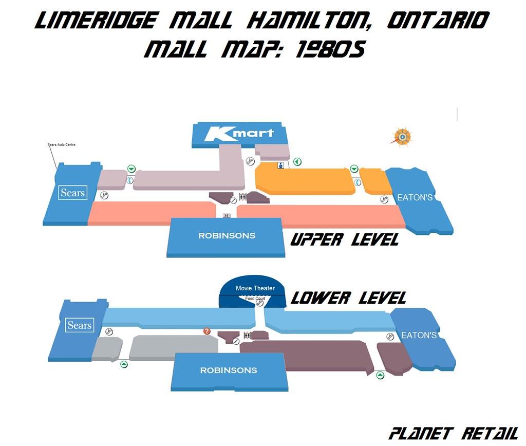 Limeridge Mall Floor Plan Lime Ridge