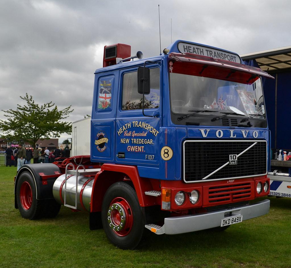 Heath Transport Volvo F10 Dkd 849x Yorkshire Truck