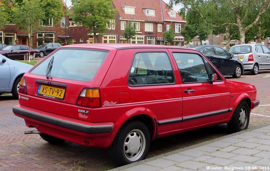 Volkswagen Golf Ii Bistro 1987 Haarlem Netherlands