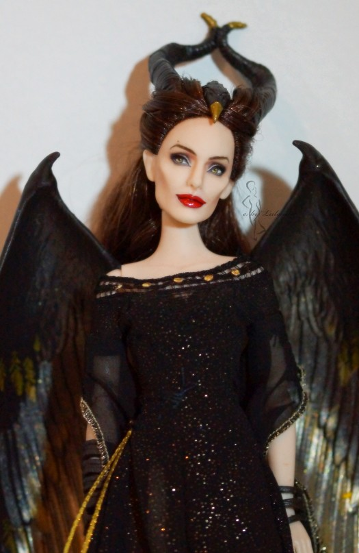 Maleficent Ooak Doll Yes I Know Nearly Every Doll