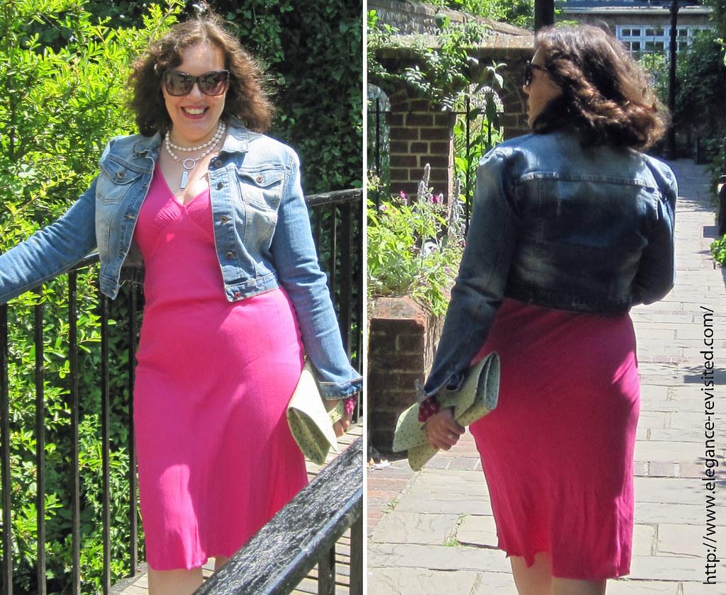 wearing pink 40+