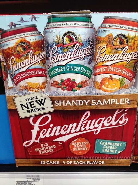 ... Fashioned Shandy, Harvest Patch Shandy, and Cranberry Ginger Shandy