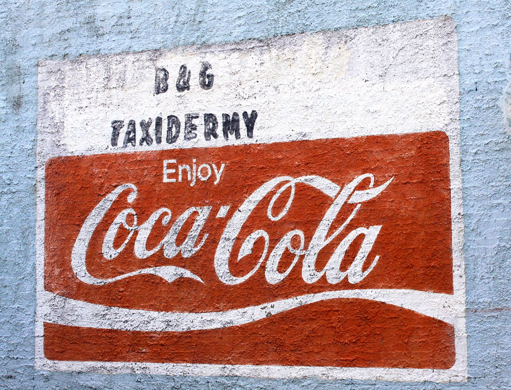 Coca cola mural moscow tn this wall mural for coca for Coca cola wall mural