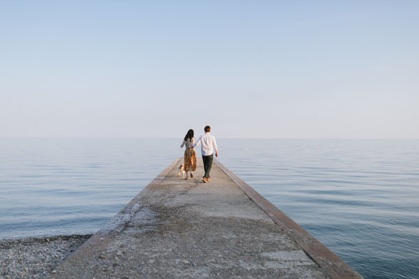 Celine Kim Photography Kew Beaches Toronto engagement session with dog-20