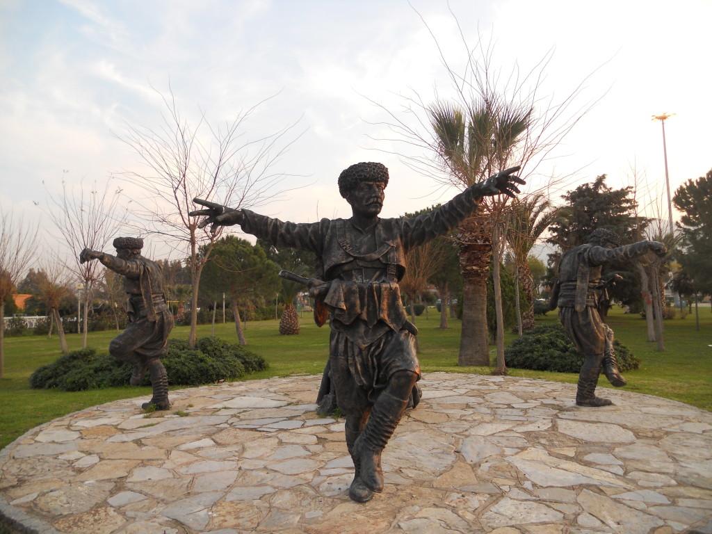 İzmir自然生物公園-雕像