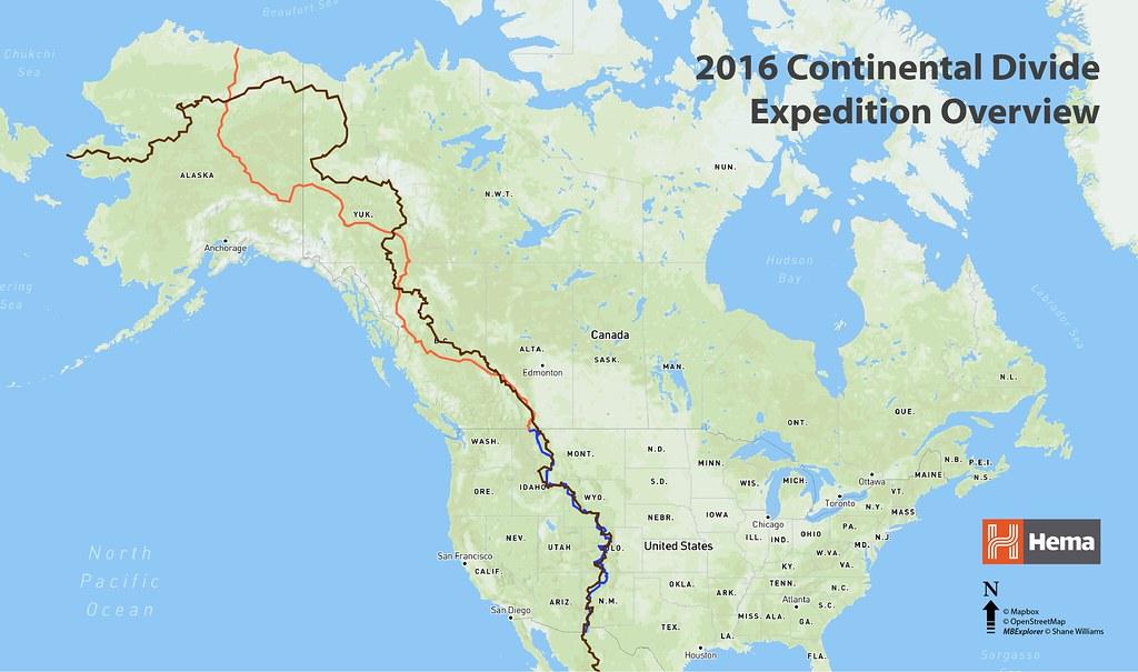 Continental Divide In Canada Map 2016 Hema Maps Continental Divide Expedition | Expedition Portal