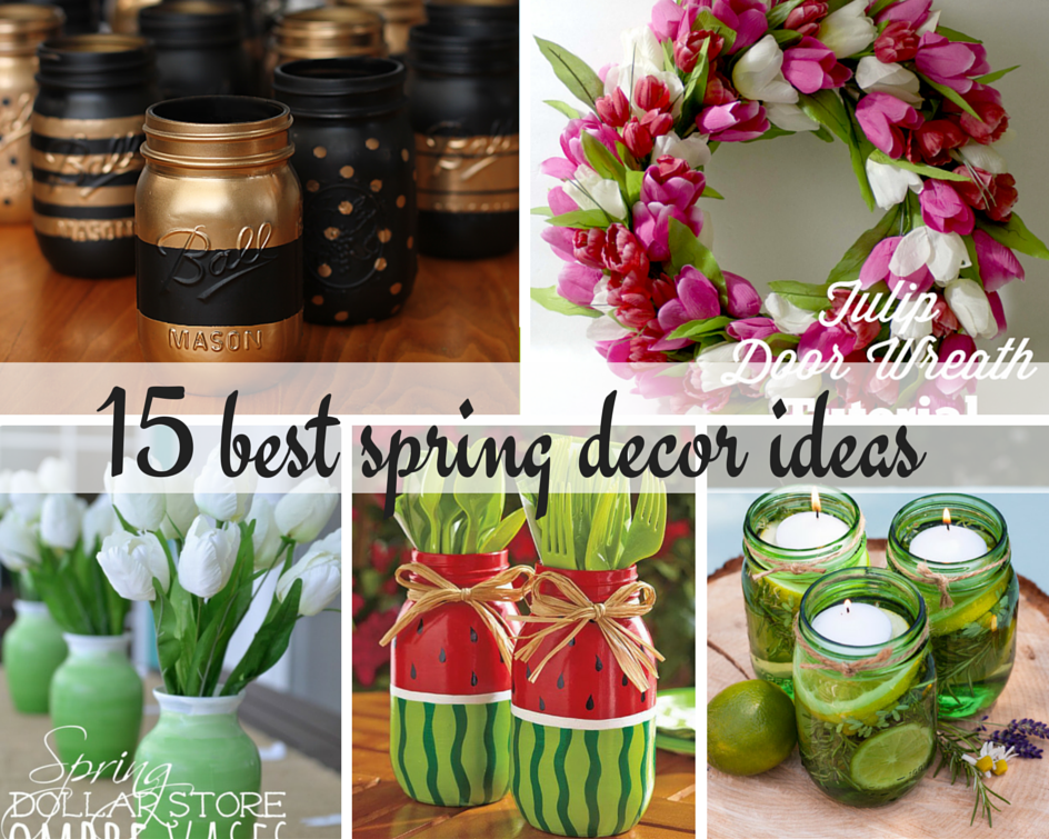 15 best spring decor ideas