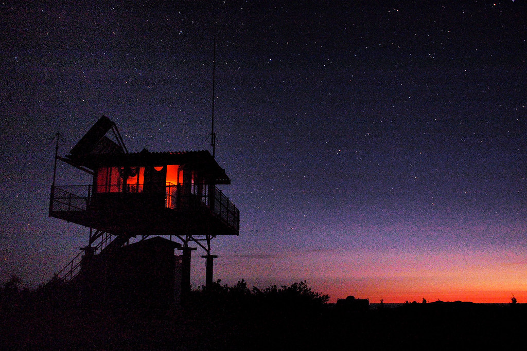 Lake of the Woods Fire Lookout South Western Oregon