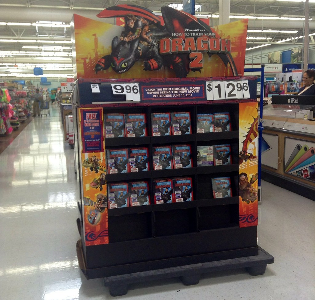 How to Train Your Dragon Two Displays and Toys at Walmart ...