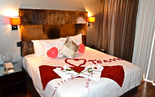romantic package and decoration - La Inmaculada Hotel in Guatemala City