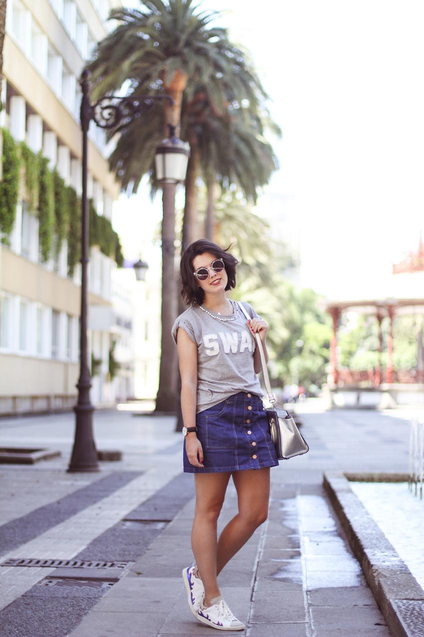 deportivas de Isabel Marant modelo Gilly streetstyle myblueberrynightsblog