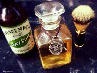 DIY Bay Rum Aftershave & Cologne Recipe