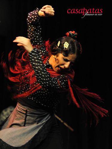 La bailaora Lucía Campillo. Foto: Martín Guerrero