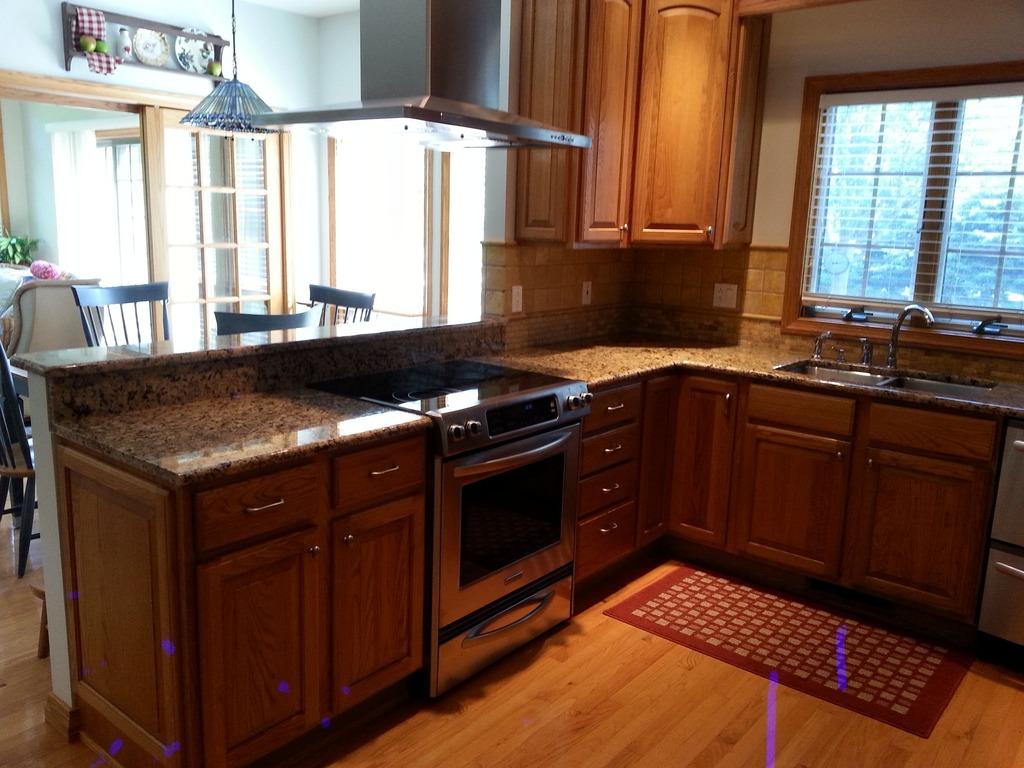 Oak Kitchen Nook Table