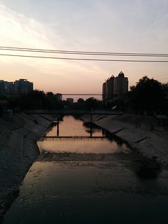 Sunrise in Wangjing