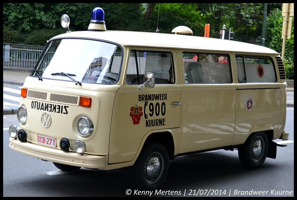 Privat Fire Brigade Aalst Kuurne Ambulance Ambulance