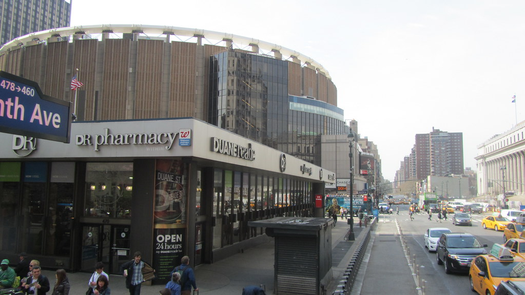 Madison Square Garden New York David Jones Flickr