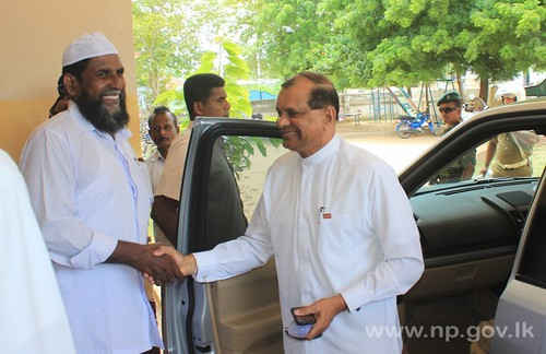 Governor visits Osmania College – 20 August 2014